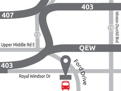 West GTA Location