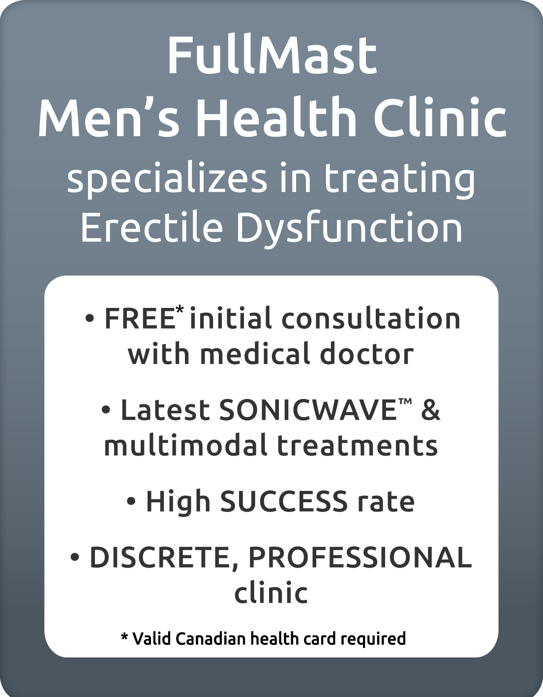 FullMast Men's Health Clinic