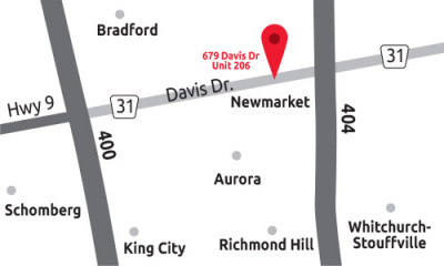 Newmarket Erectile Dysfunction Clinic Map