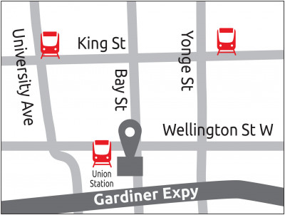 Map of Fullmast Erectile Dysfunction Clinic Downtown Toronto