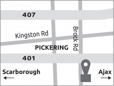 Map of Fullmast Erectile Dysfunction Clinic East GTA Pickering,