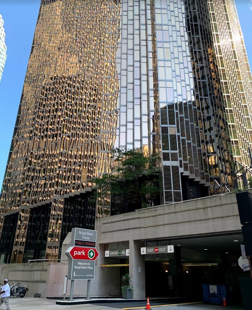 RBC Plaza Building FullMast Downtown Toronto Clinic